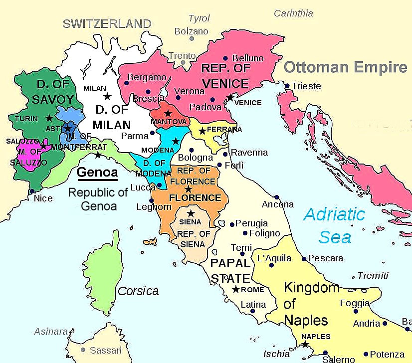 Genoa Italy Resources